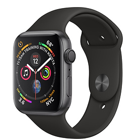45f91663e0d APPLE WATCH SERIES 3 44MM SPACE GRAY ALUMINUM CASE WITH BLACK SPORT BAND  GPS + CELLULAR Points  7854
